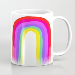 Regenbogen 001 / A Bright & Cheerful Rainbow Coffee Mug