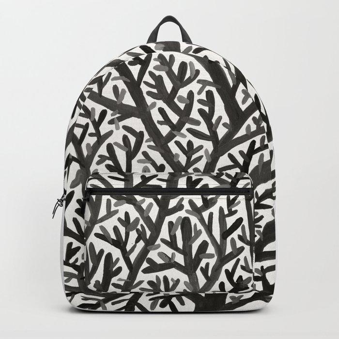 Black Fan Coral Backpack