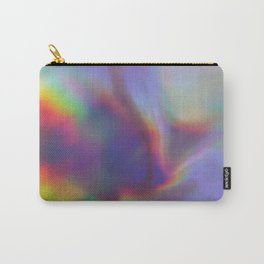 An abstract colorful holographic futuristic texture. Carry-All Pouch