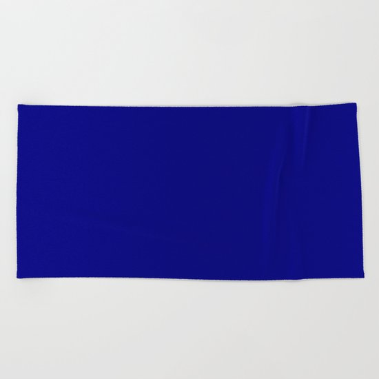 (Navy Blue) Beach Towel