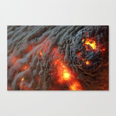 Flaming Seashell 1 Canvas Print