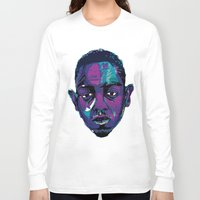 kendrick lamar Long Sleeve T-shirts featuring Control - Kendrick Lamar by SmartyArt Chick