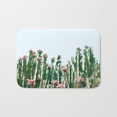 Blush Cactus #society6 #decor #buyart Bath Mat