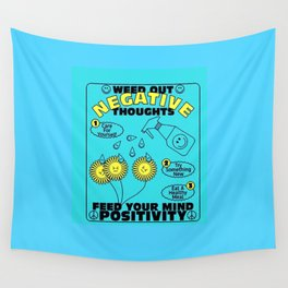 Feed Your Mind Positivity Wall Tapestry