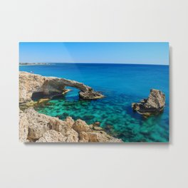 Cyprus Sea II Metal Print