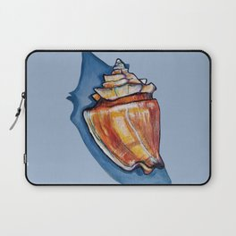 Shell Two in Blue Laptop Sleeve