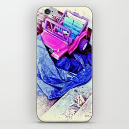 Jeep & Tarp & Chalks iPhone Skin