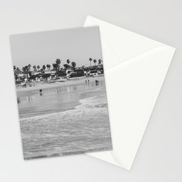 Wavy Day at Pacific Beach Stationery Cards
