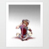 Fionna the Human Art Print