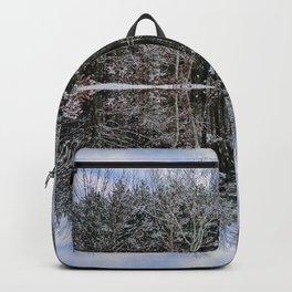 Maine Maple Sky Fairy Fantasy Backpack