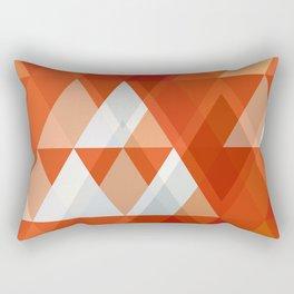 Modern Abstract Geometric Rectangular Pillow