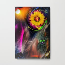 Mystical world - sunrise Metal Print