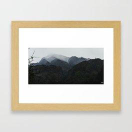 Nepal Series | Path to Tombuche, Himalayas Framed Art Print