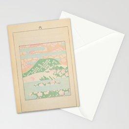 Japanese Mountain Stationery Cards