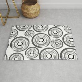 Enso Circles - Zen Circles pattern #1 Rug