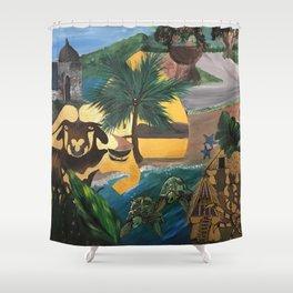 Culture Shower Curtain