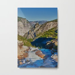 Yosemite ontop Nevada Falls, Grizzly Peak Metal Print
