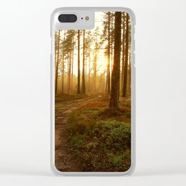 The Warmest Morning Clear iPhone Case
