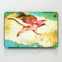 mythology iPad Cases featuring Gryphon mythology by Ganech joe