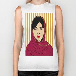 Malala Yousafzai  Biker Tank