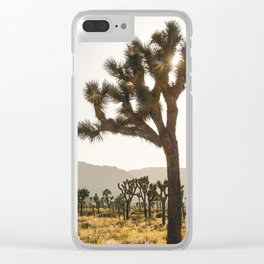 Joshua Tree (yucca palm) Clear iPhone Case