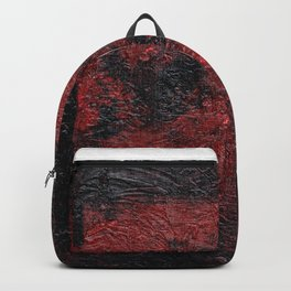 Smoldering (Red Abstract) Backpack