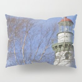 New Presque Isle Lighthouse Pillow Sham