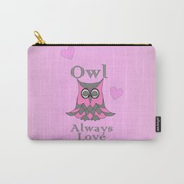 Owl Love U Forever - Valentines Carry-All Pouch