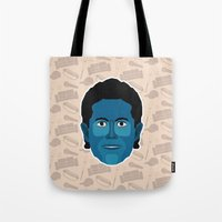 seinfeld Tote Bags featuring Jerry Seinfeld - Seinfeld by Kuki