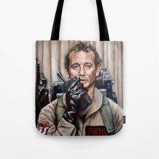 Bill Murray / Ghostbusters / Peter Venkman Tote Bag