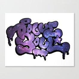 """""""Rogue Soul"""" Space Design Canvas Print"""