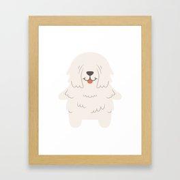 Komondor Gift Idea Framed Art Print
