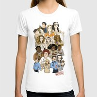 oitnb T-shirts featuring Daya, Bennet, & Pornstache OITNB by StephDere
