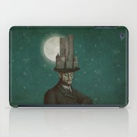 architect iPad Cases featuring The Architect (colour option) by Eric Fan