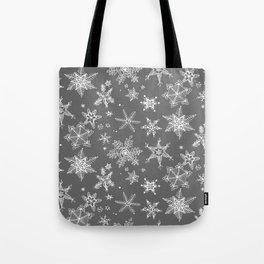Snow Flakes 08 Tote Bag