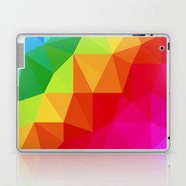 Rainbow Low Poly Laptop & iPad Skin