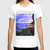 boats T-shirts featuring Boats by Esther Soendergaard