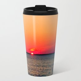 An LBI Sunset Travel Mug