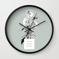 Save Your Seiva Wall Clock
