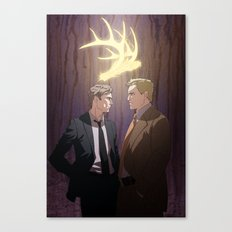 The King in Yellow (True Detective) Canvas Print