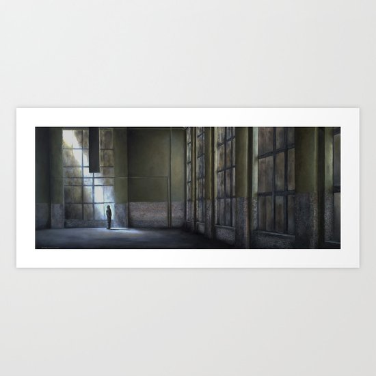 Oskar Schindler Factory 1940 Art Print