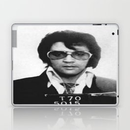 The King Mugshot Laptop & iPad Skin