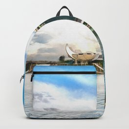 Hotel Marina Bay Sands and ArtScience Museum, Singapore Backpack