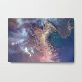 194. Earth Art in Northwestern Australia Metal Print