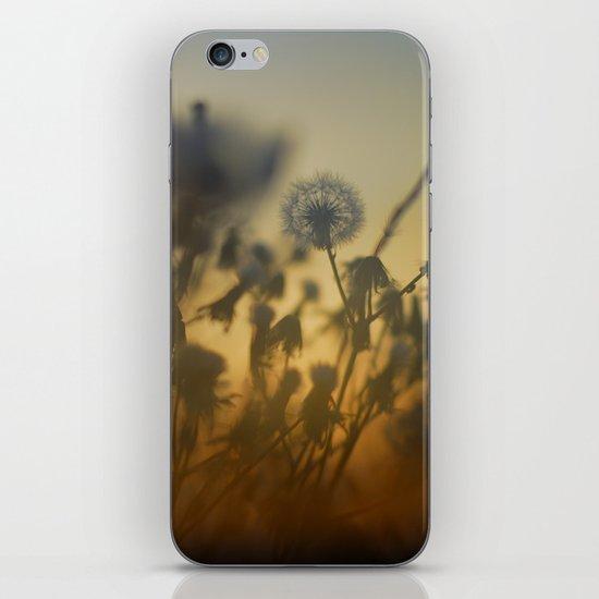 The fire of the sun iPhone & iPod Skin