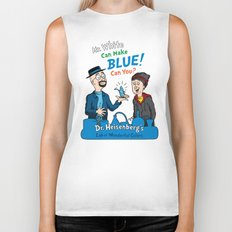 Mr. White Can Make Blue! Biker Tank