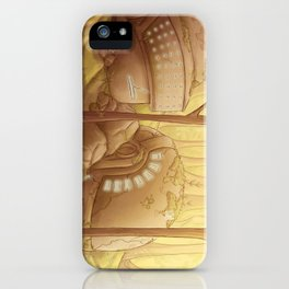 Gust of Wind iPhone Case