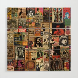 Rock'n Roll Stories Wood Wall Art