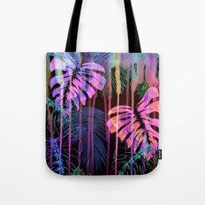 Drippy Jungle {acid} Tote Bag