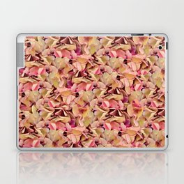 Hortensia blooms, floral pattern Laptop & iPad Skin